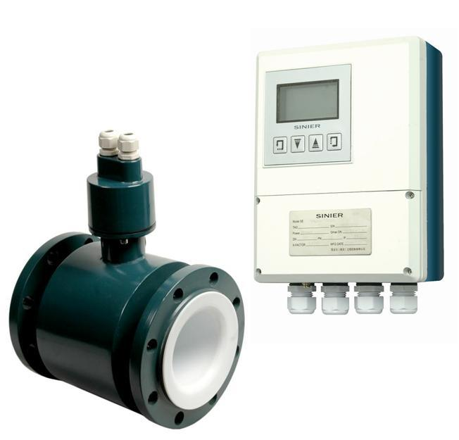 Divided Type Sinier Electromagnetic Flow Meter