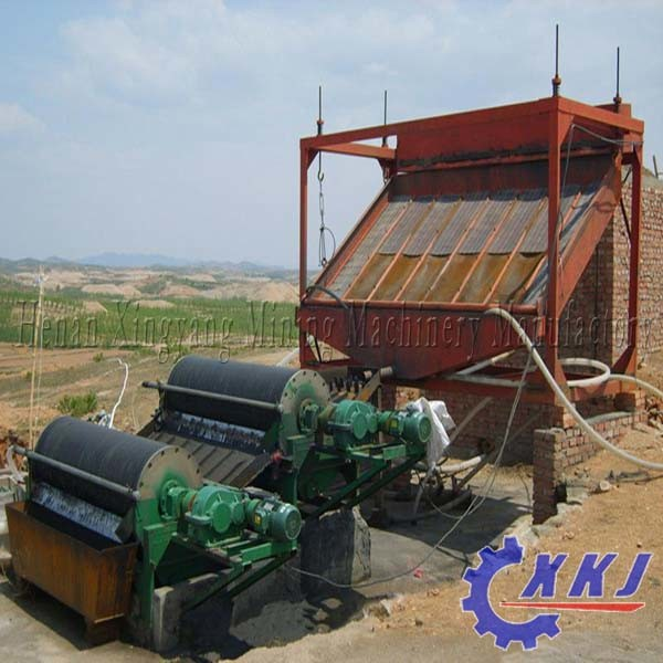 Large Capacity Iron Sand Permanent Magnetic Separator