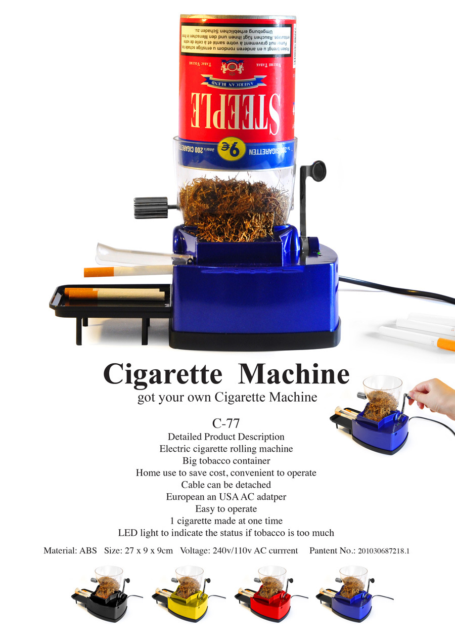 cigarette injection machine