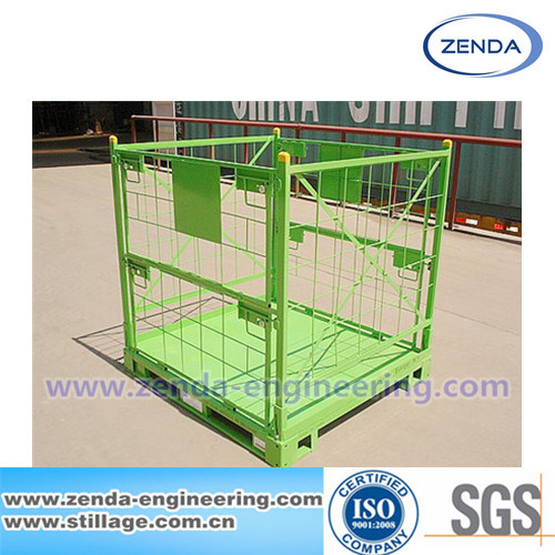 Stillage / Stillage Pallet Cage / Foldable Stillage / Metal Collapsible Pallet / Warehouse Steel Stillage / Logistic Stillage