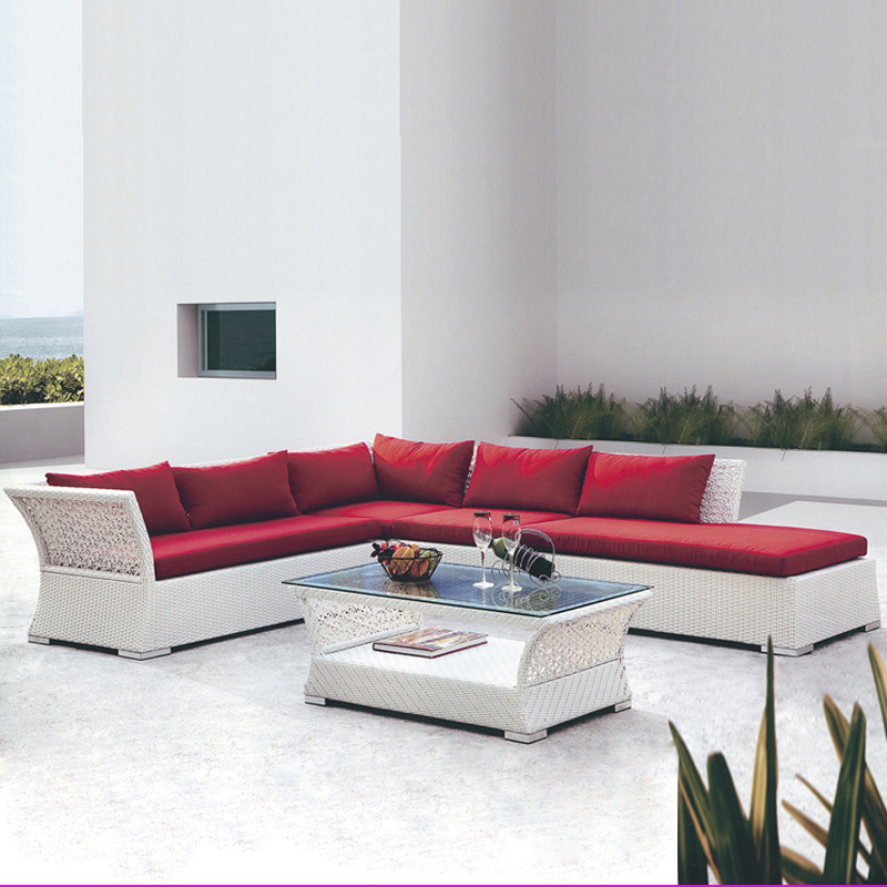Hot Sale Cheap Manufacturer Rattan / Wicker Outdoor Furniture Sofa S227