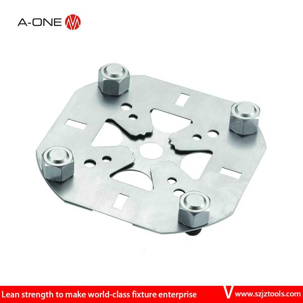 Erowa Inox Centering Stainless Steel Plate 100m8