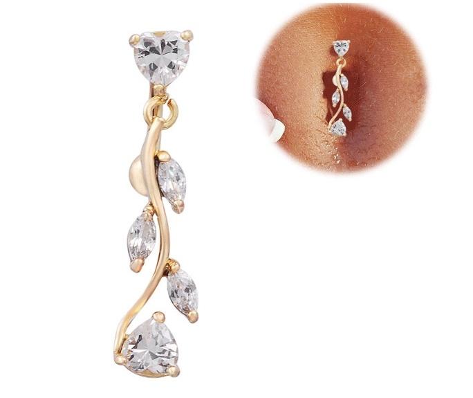 Rewind Love Navel Nail Piercing Fashion Jewellery