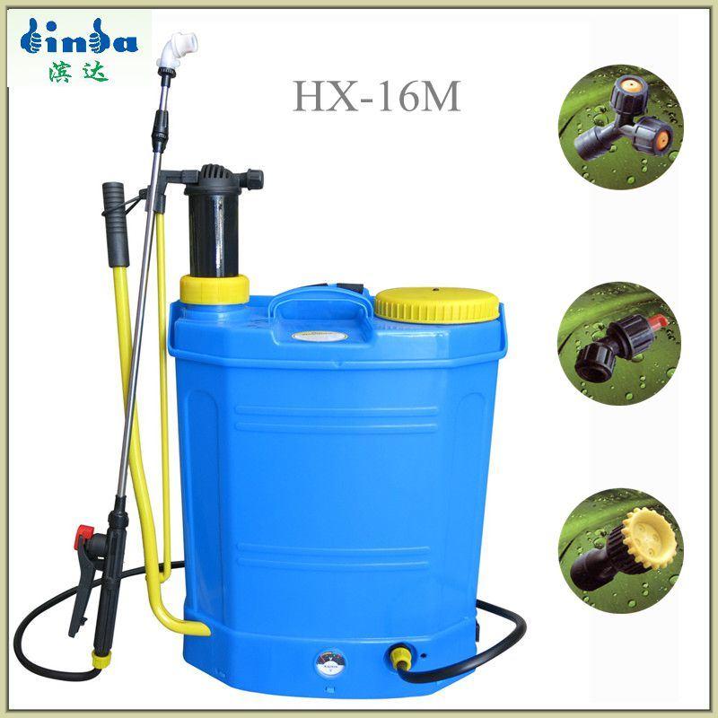 18L Battery & Manual Knapsack Sprayer for Agriculture