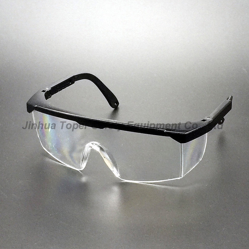 ANSI Z87.1 Approval Lab Safety Glasses Side Shields (SG100)