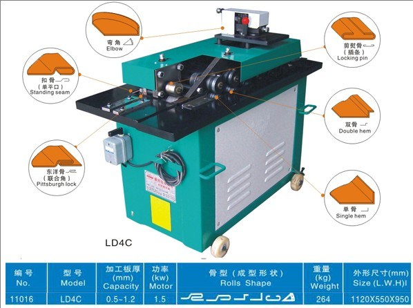 Lock Forming Machine (LD4C)