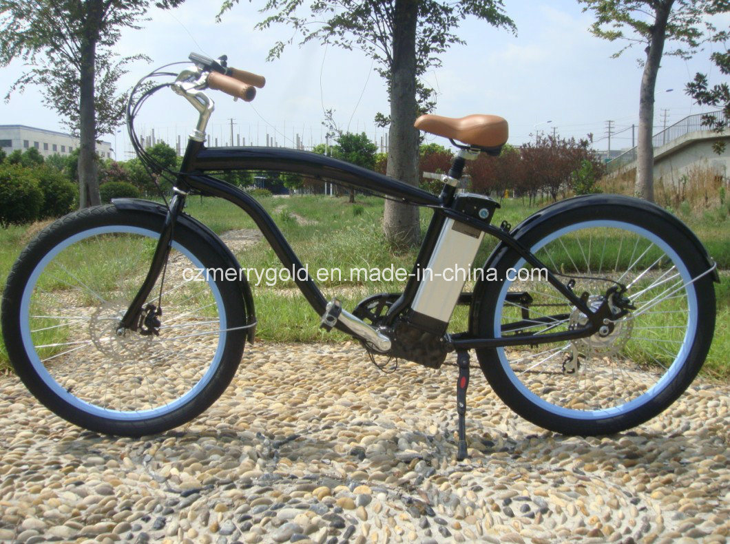 36V 250W Electric Beach Cruiser Bike En 15194 Approved