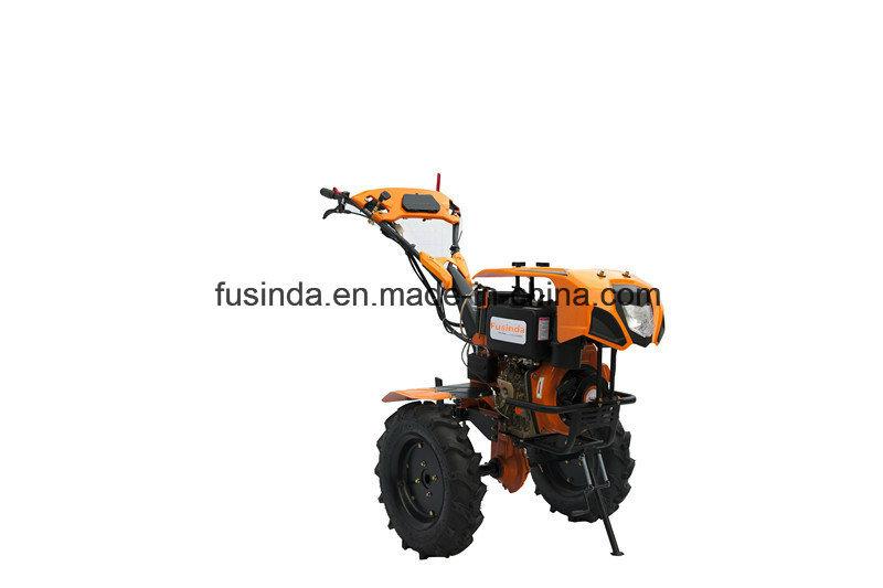 7HP Diesel Power Tiller Rotary Cultivator