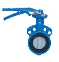 Wras Ductile Iron with Epoxy Coating Wafer Butterfly Valve