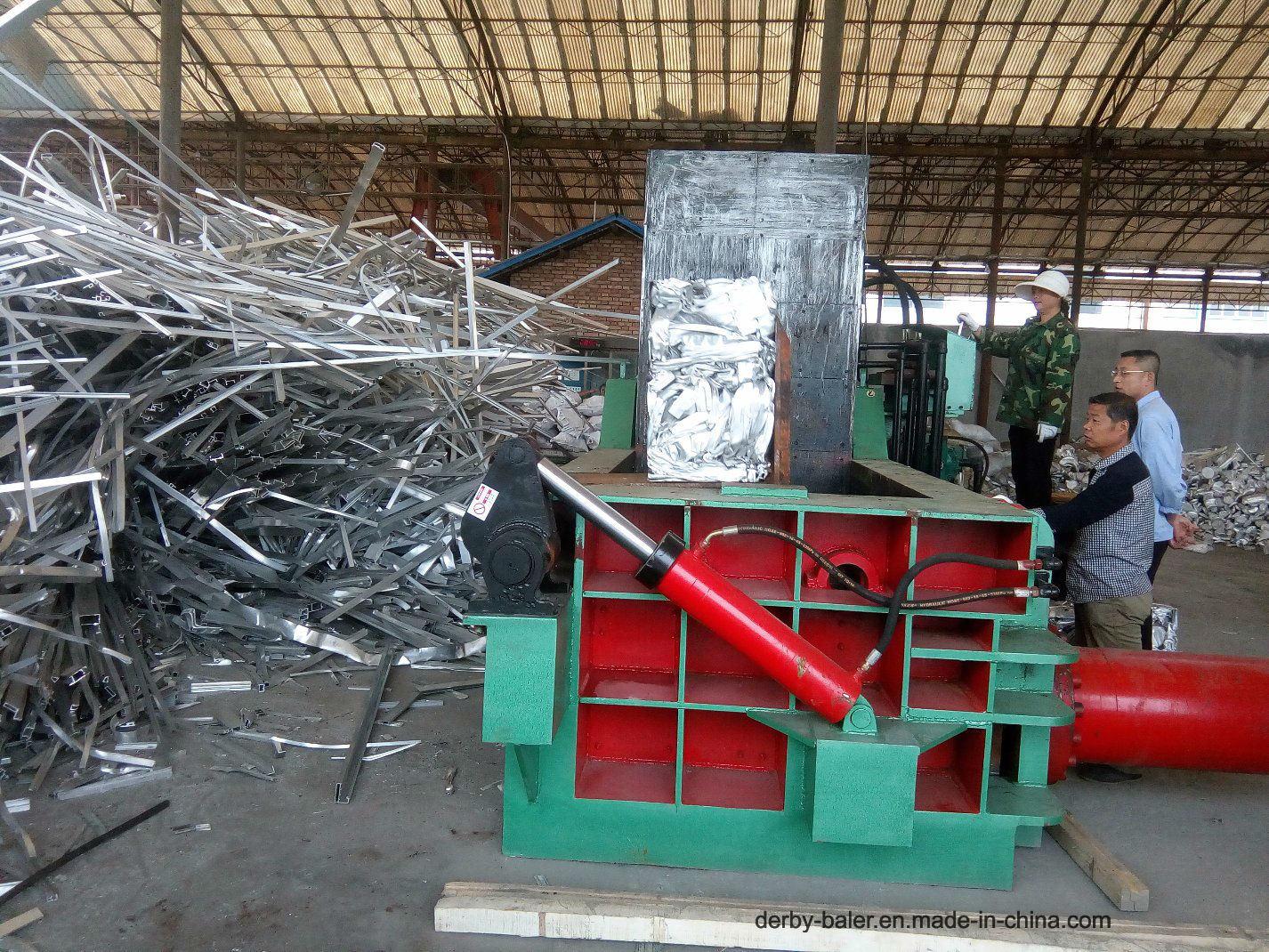 Baler Machine Briquette Machine Press Machine Metal Baler Hydraulic Machine for Aluminum Iron Manual (FDY-63A)