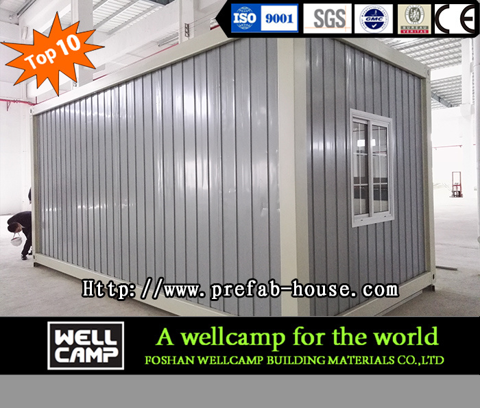 Economic Flat Pack Prefab Container Office House for Sale