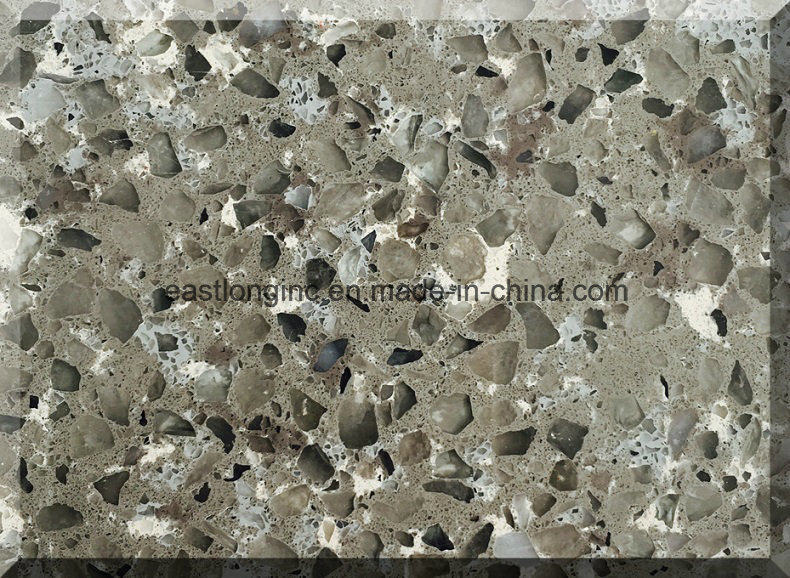 China Wholesale Artificial Stone Type Quartz Stone for Solid Surface