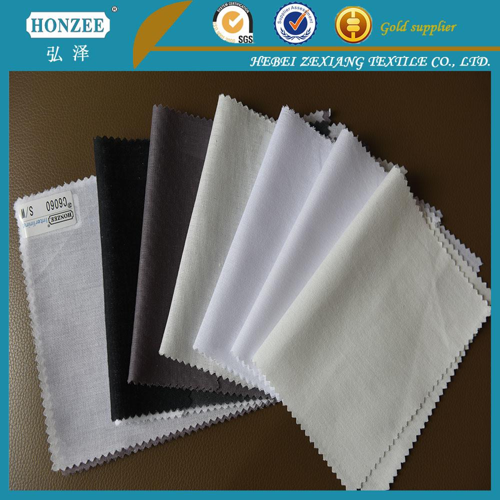 Collar Fusible Interlining Fabric