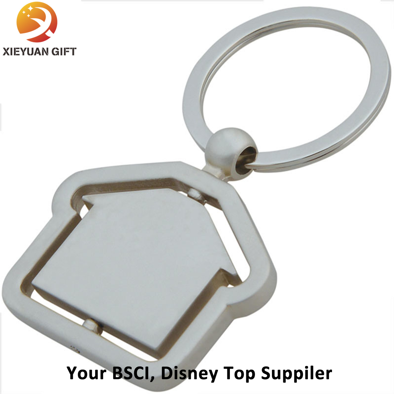 Custom Room Shape Nickel Keychain Factory