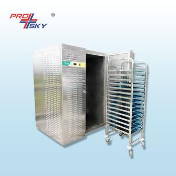 Bitzer Compressor Blast Chiller Deep Freezer Machine