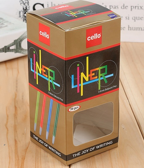 Electronics Cosmetic Paper Cardboard Box with PVC Window