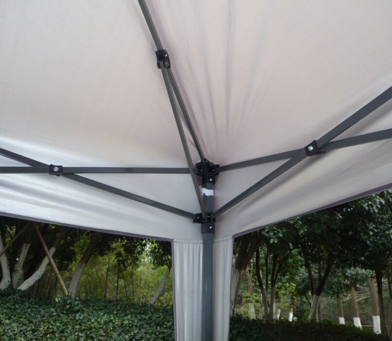 Folding Outdoor Aluminum Frame Gazebo