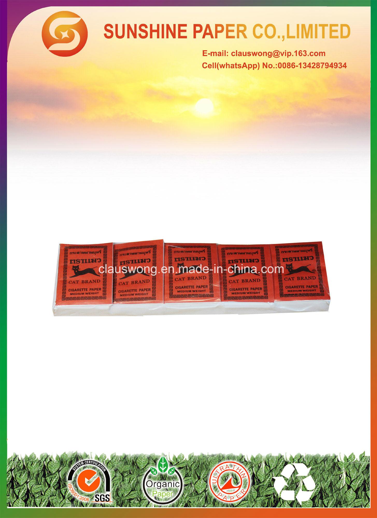 Plain Cigarette Paper Without Gum