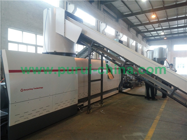 PP Film Recycling Granulator with Capacity 400-550kg Per Hour