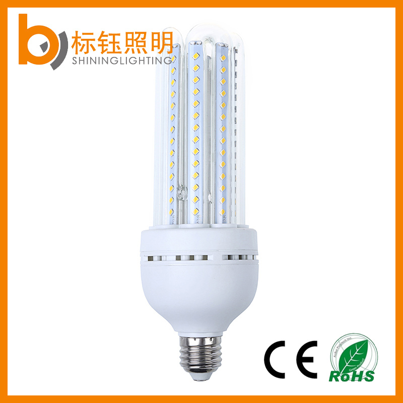 4u 24W E27 Bulb Lighting High Performance SMD2835 Chips U-Shape Corn Light LED Energy Saving Lamp