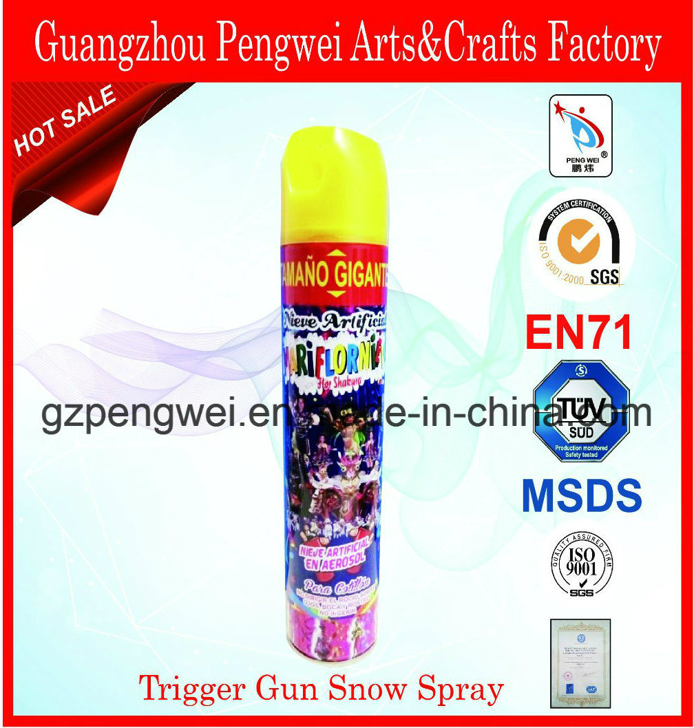 700ml Trigger Canned Aerosol Snow for Christmas Decoration
