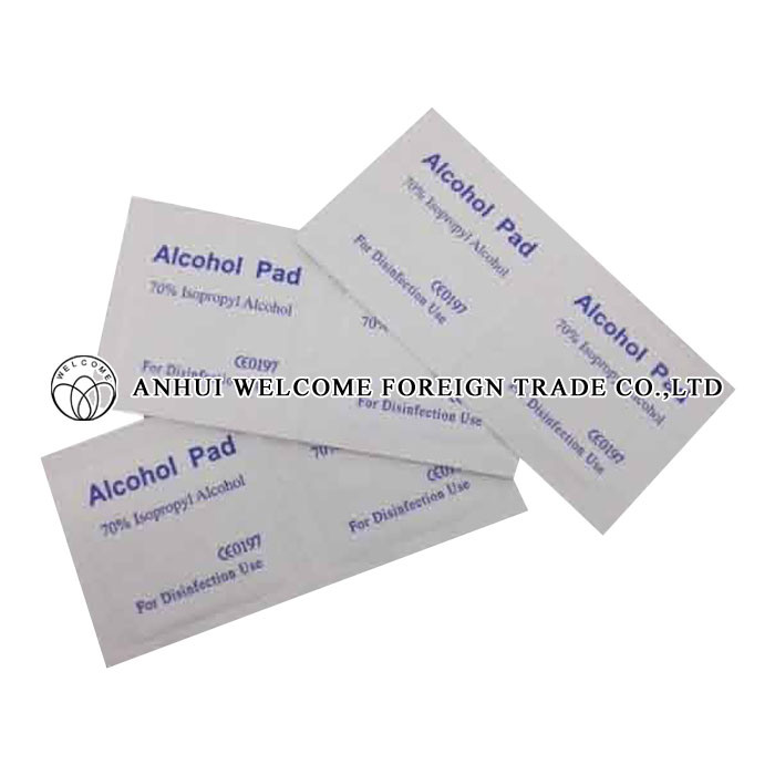 Alcohol Pad (Non-woven Fabric+Alcohol)