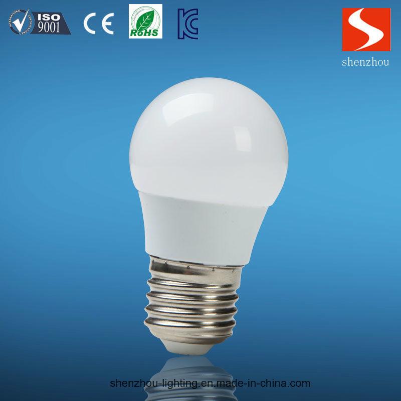 3W E27 6500k Aluminum PBT Plastic LED Bulb