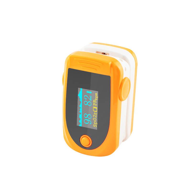 Portable Fingertip Finger Pulse Oximeter Oximetry Blue/White/Green/Orange/Rose Red SpO2 Sensor-Fanny