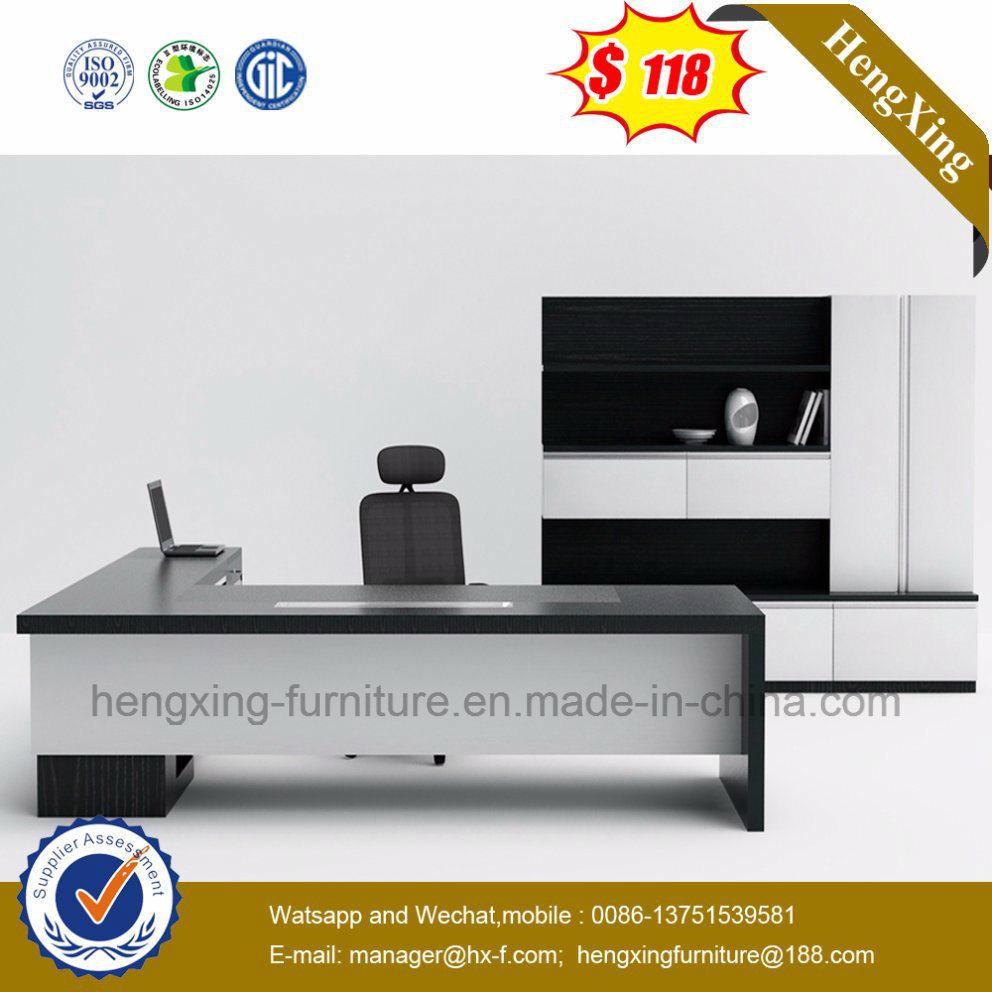 China Factory Modern Furniture Office Style Wooden Computer Desk (HX-G0007)
