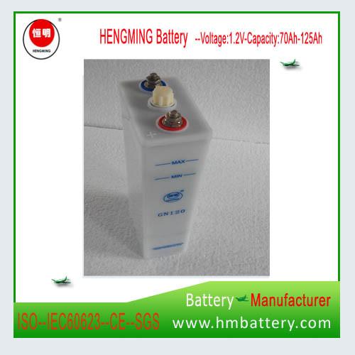 Hengming Pocket Type Nickel Cadmium Alkaline Battery Gn Series (Ni-CD Battery)