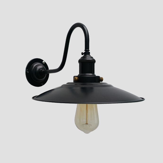 Vintage Style Enamel Wall Lamp for Ce RoHS Certification
