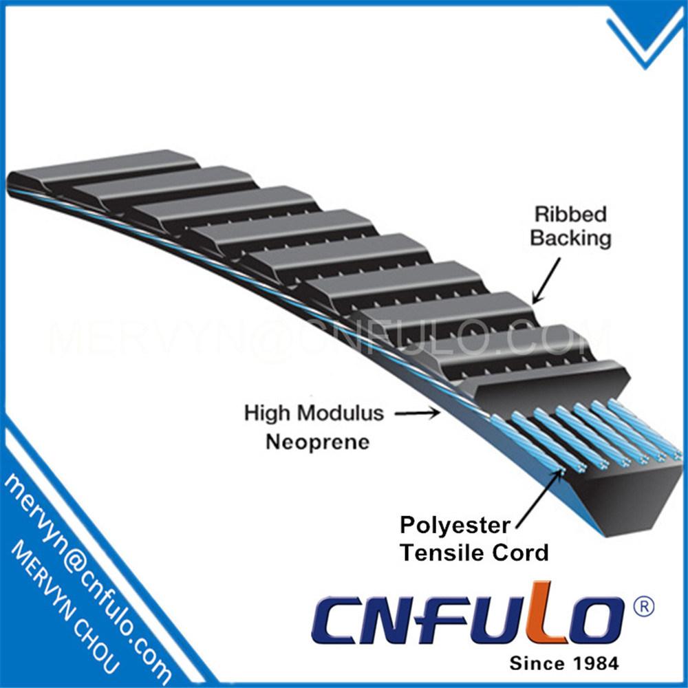 Wide Angle V-Belt, Gates Polyflex, 3m, 5m, 7m, 11m