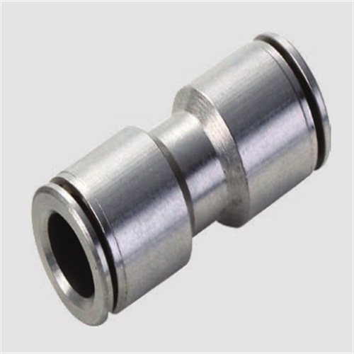 PU Pneumatic Tube Metal Fitting