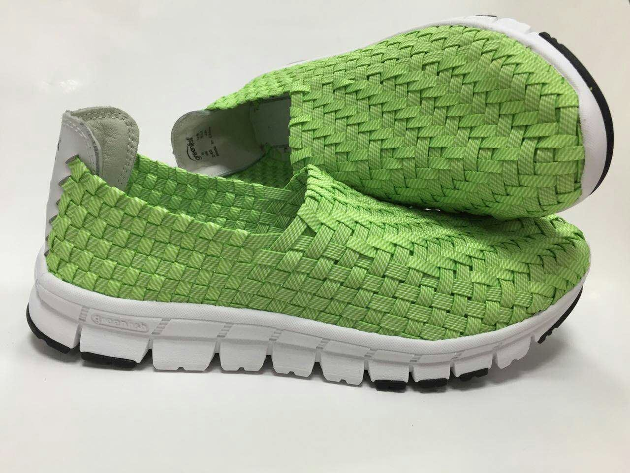 2017 Hot Sale Woven Shoe New Design Comfortable Shoe