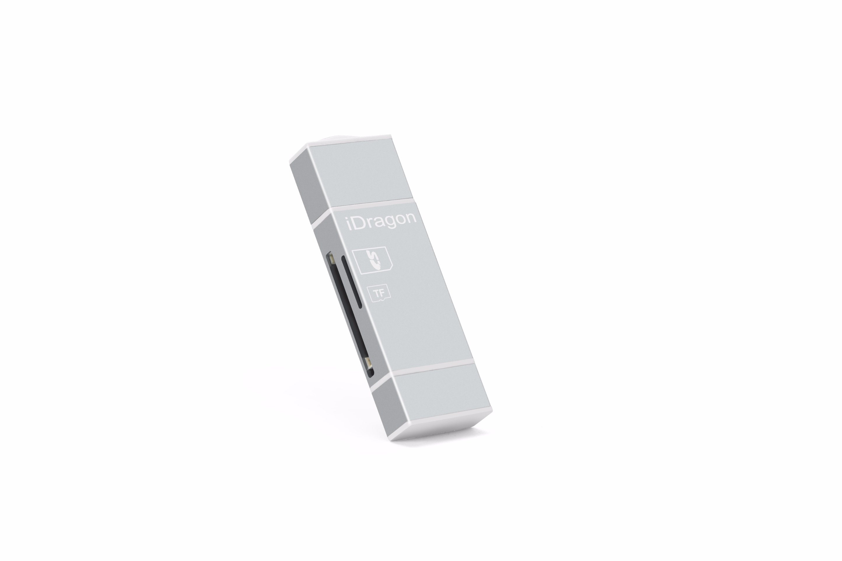 Smart Card Reader for iPhone 5s Memory Card Reader with Micro USB and Support SD/TF Card (OM-RC004)