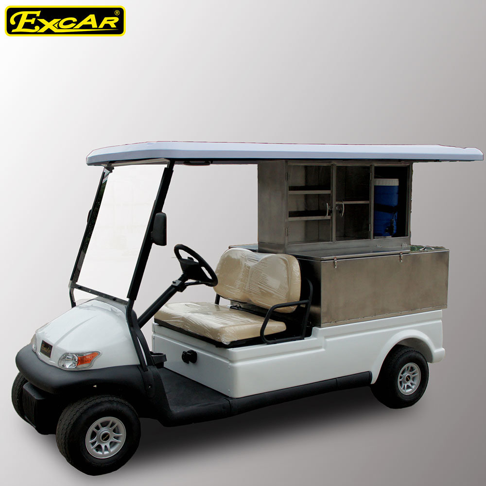 Trojan Battery 2 Seats Store Car Electric Golf Car