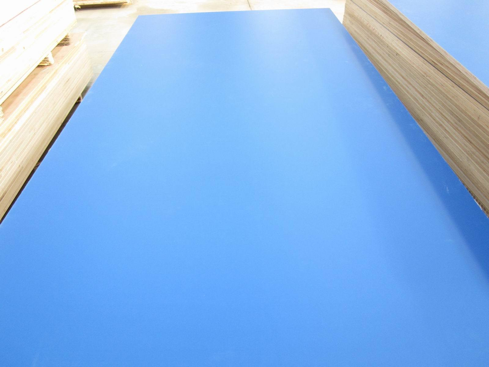 Melamine MDF Board, Size 1220X2440X18mm, Color Diamond Blue, Density: 720g, Glossy Surface