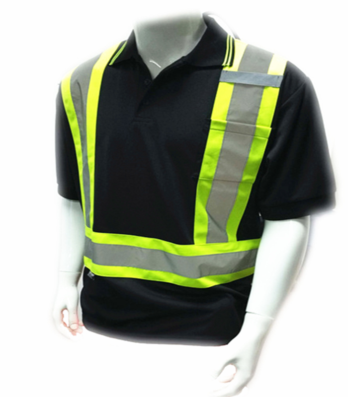 High Visibility Reflective Safety T-Shirt with ANSI & En20471 Approval