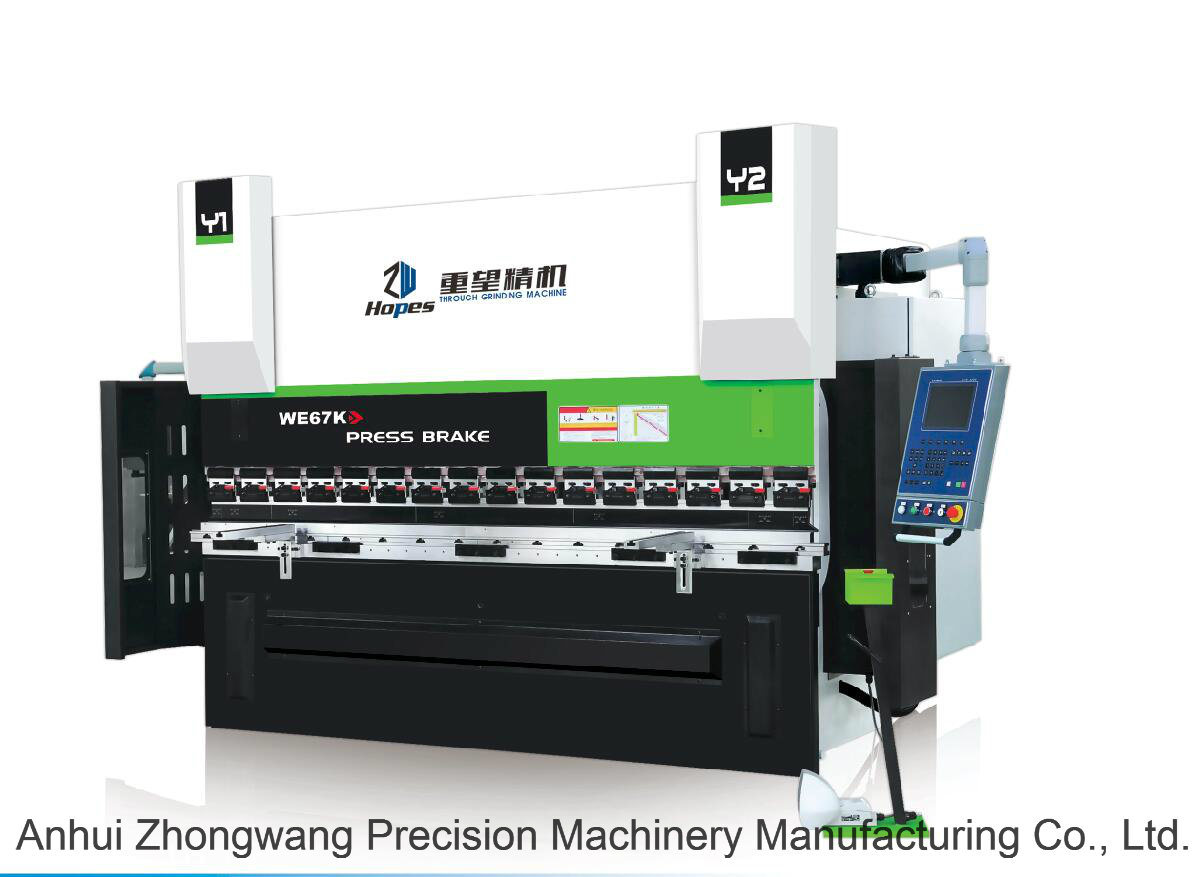 We67k Electro-Hydraulic Dual Servo Synchronous CNC Press Brake