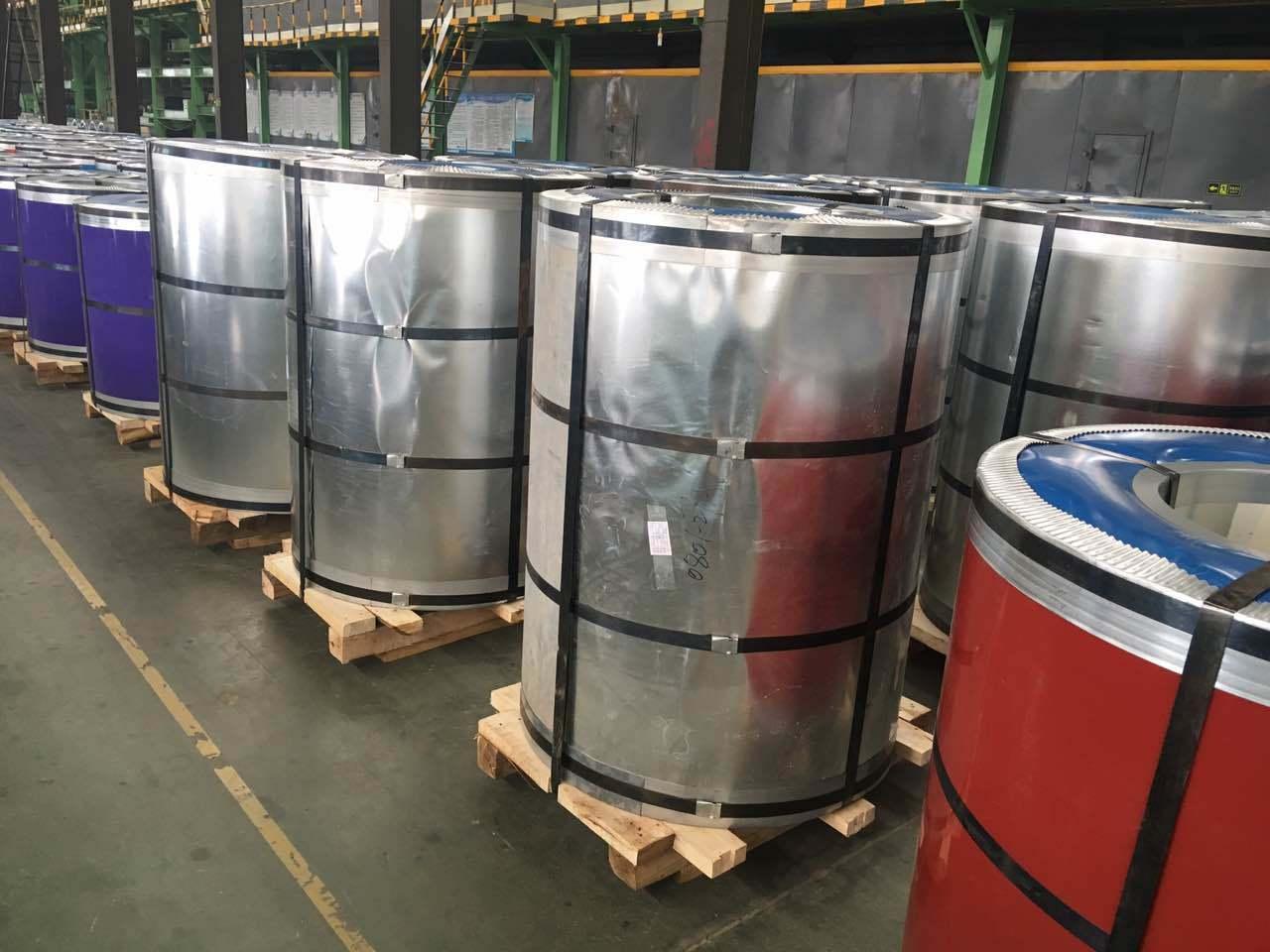PPGI/PPGL/Gi/Gl Galvanized Color Coated Steel Coil (CC-11) Yehui Steel