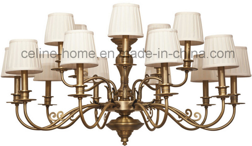 Good Quality Iron Pendant Lamp with Copper Decoration (SL2085-6)