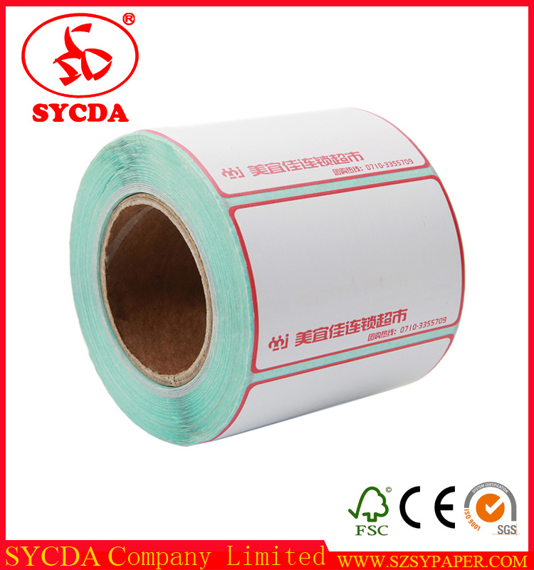Logo Printed Thermal Self Adhesive Label