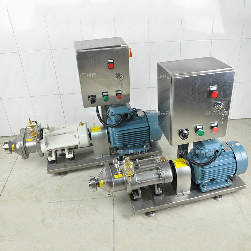 Sanitary Stainless Steel Twin Screw Pump