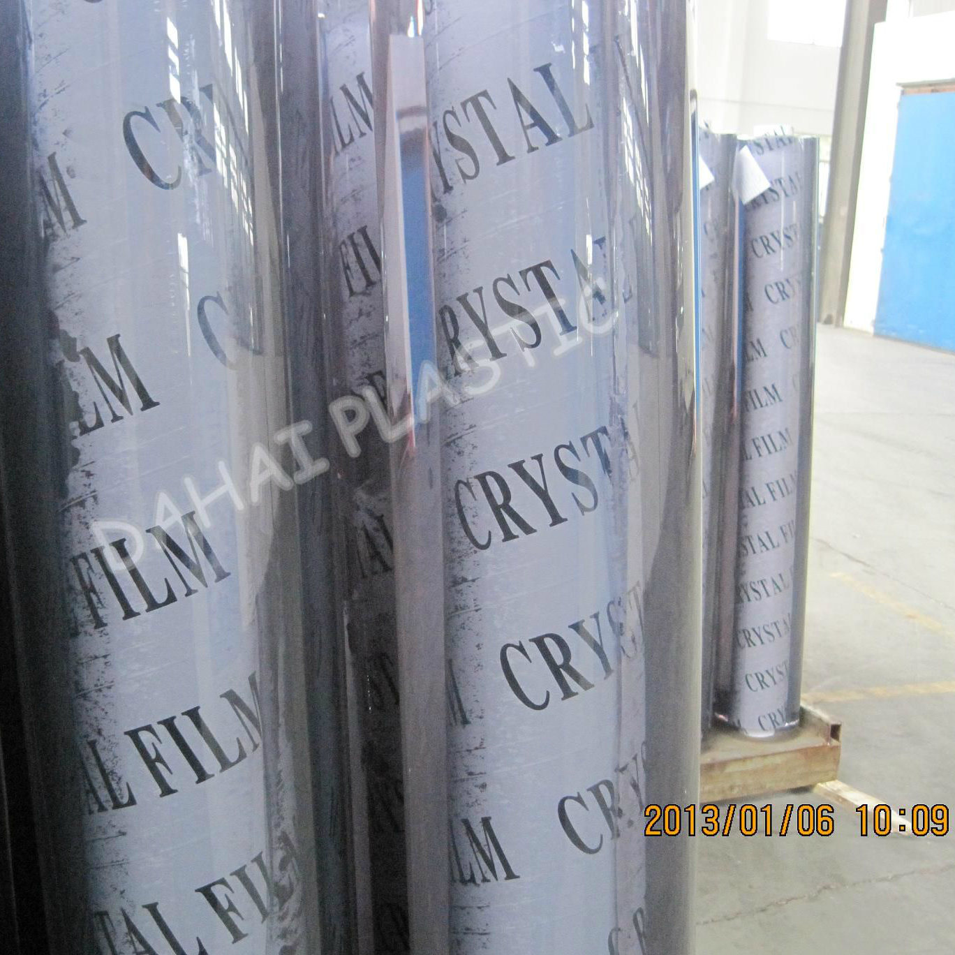 2.00mm Soft Glass PVC Film for Table Cloth