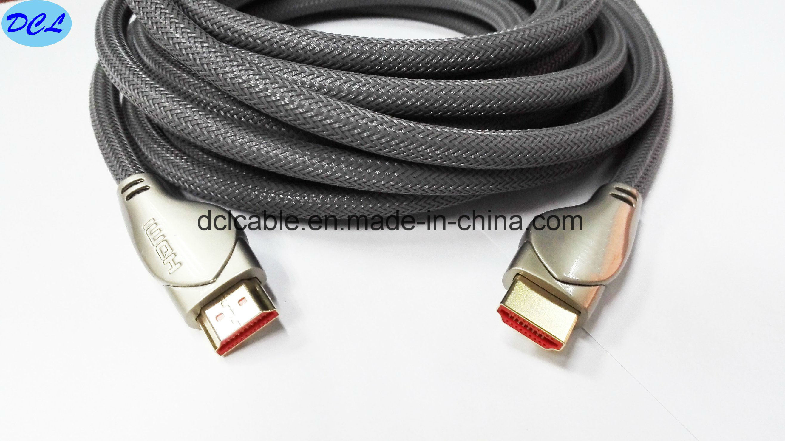 Hi-Q Netting HDMI Cable 1.4/2.0V Support 3D/1080P/4k
