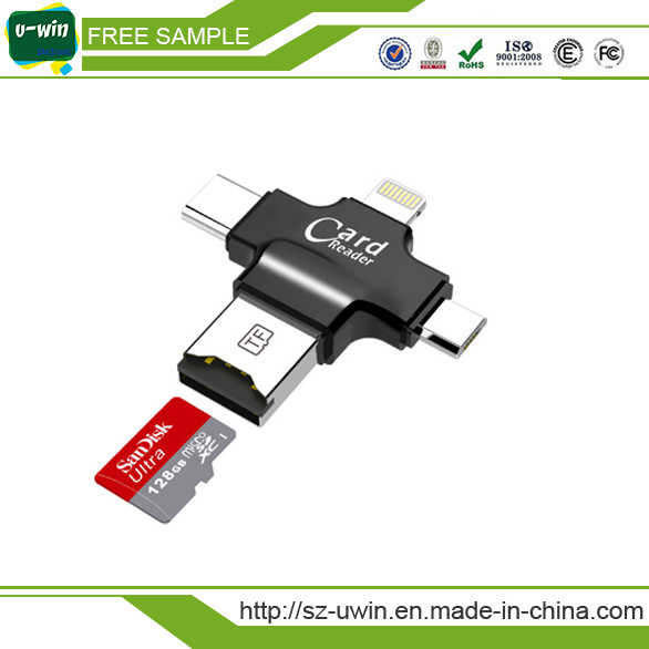 4 in 1 Smart Magnetic Card Reader for Android