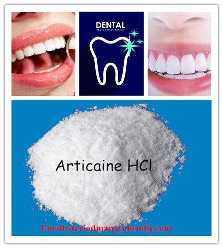 Local Anesthetic Articaine Hydrochloride Pharmaceutical Intermediate for Dental Local Anesthetic