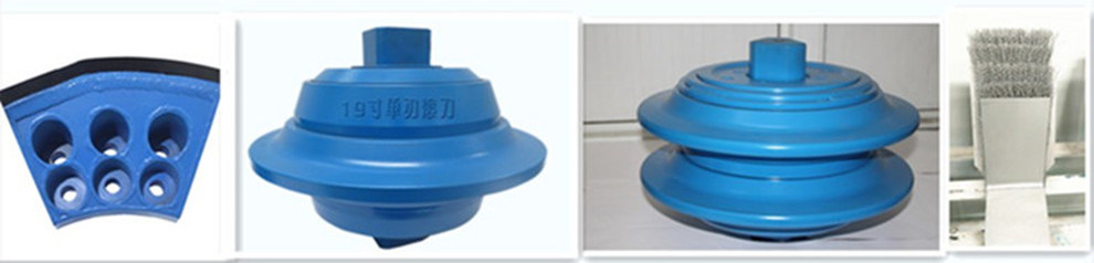 Tbm Hobbing Cutters Roller Disc Cutters/Shield Cutting Tools and Cutting Teeth with High Impact Strength for Tbm
