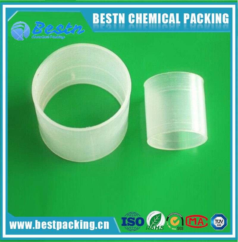 50mm Polypropylene Raschig Ring Column Packing
