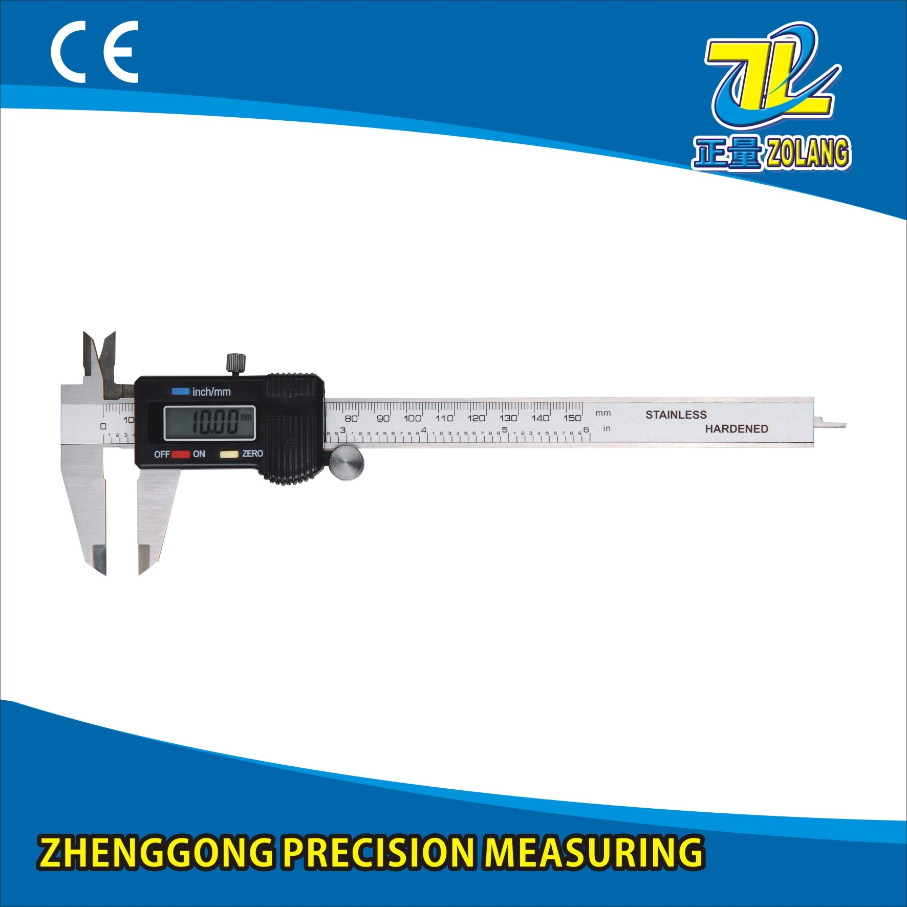 Hot Sell Industrial-Grade Stainless Steel Digital Display Calipers Measuring Tool